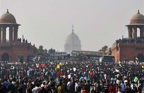 Delhi outcry over gang rape